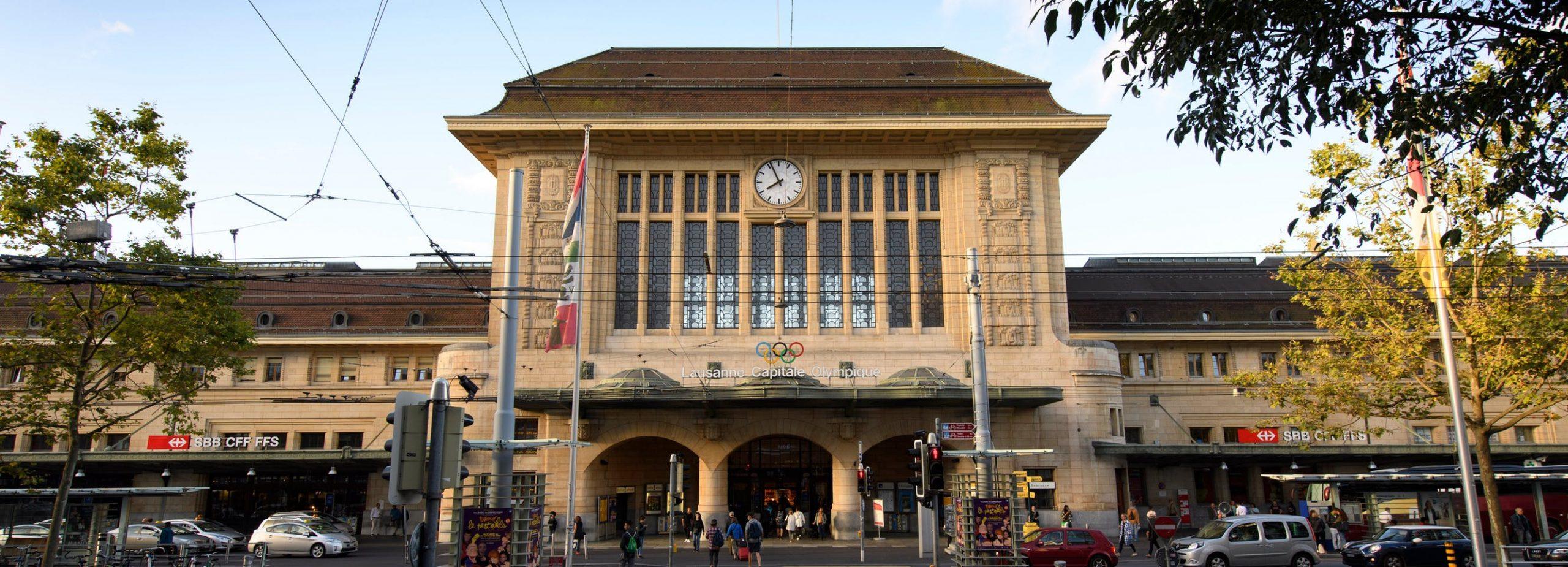 Gare de Lausanne (c)SBB